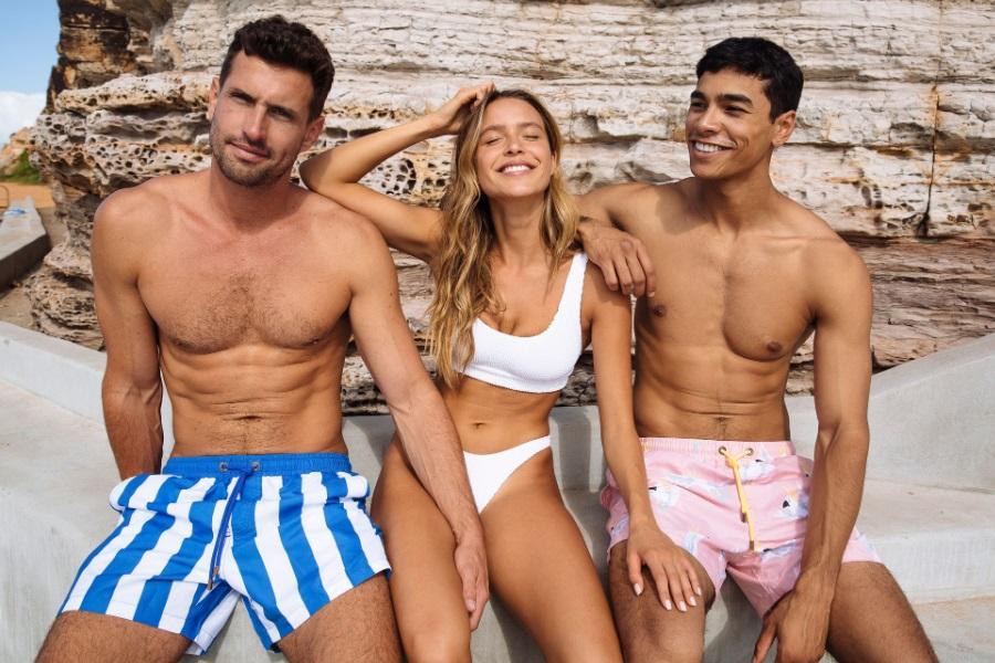 skwosh euro summer board shorts
