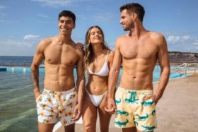 skwosh euro summer swim trunks