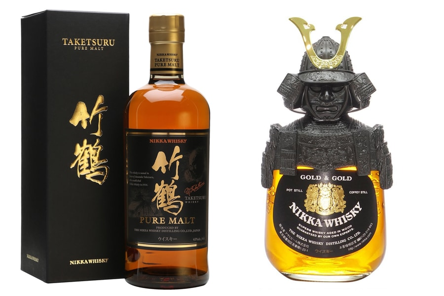 Nikka Whisky bottles