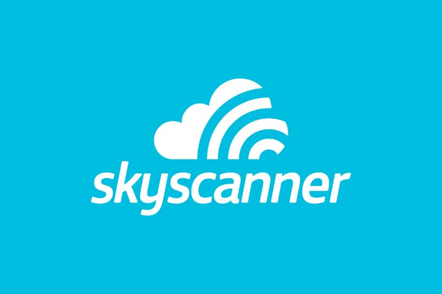 flight comparison - skyscanner logo