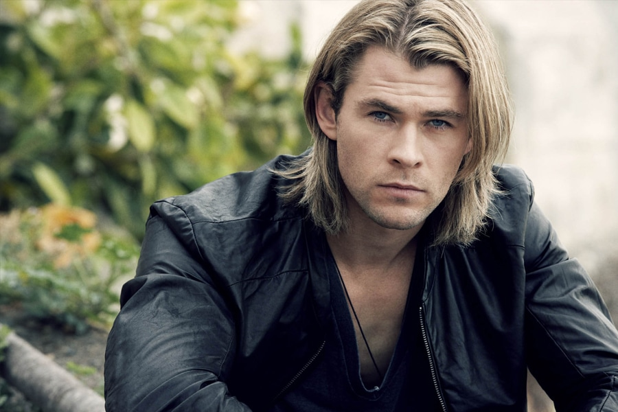 Chris Hemsworth Long haircut hairstyle