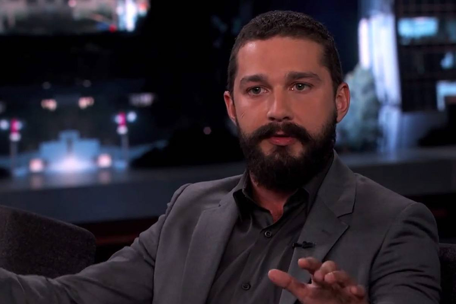 Shia Lebeouf Beard