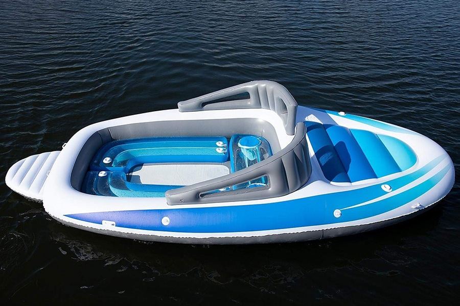mega size inflatable speed boat