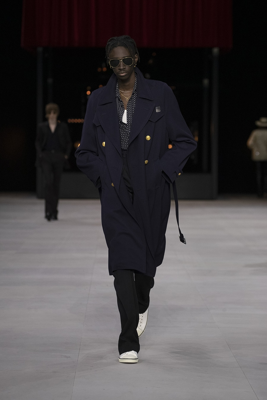 Male Runway Model in Celine