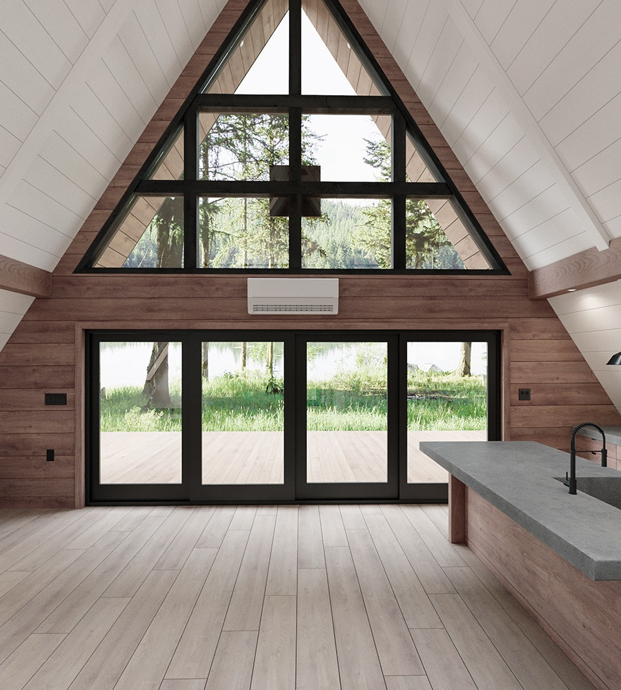 kit home large open window design