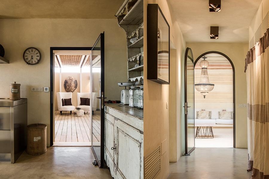 halway ti kitchen in casa lp formentera