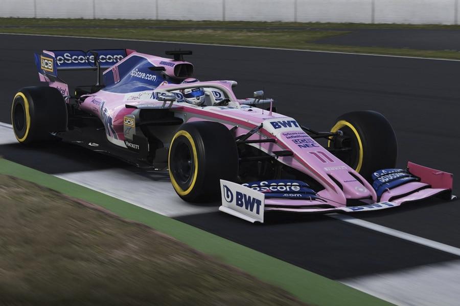 F1 2019 Game car