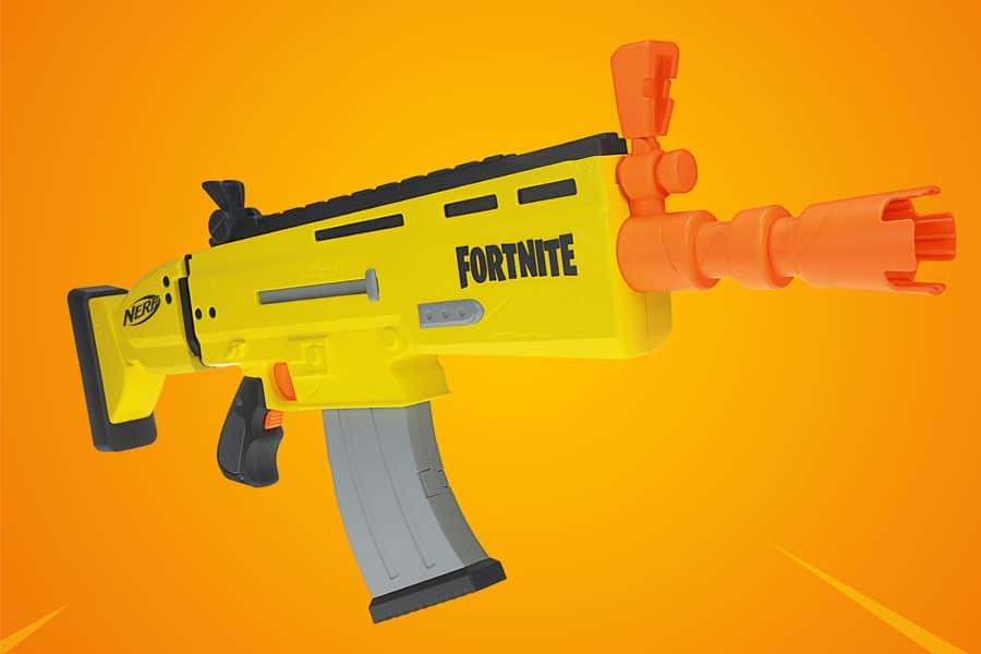 Win a FORTNITE x NERF AR-L Elite Dart Blaster!