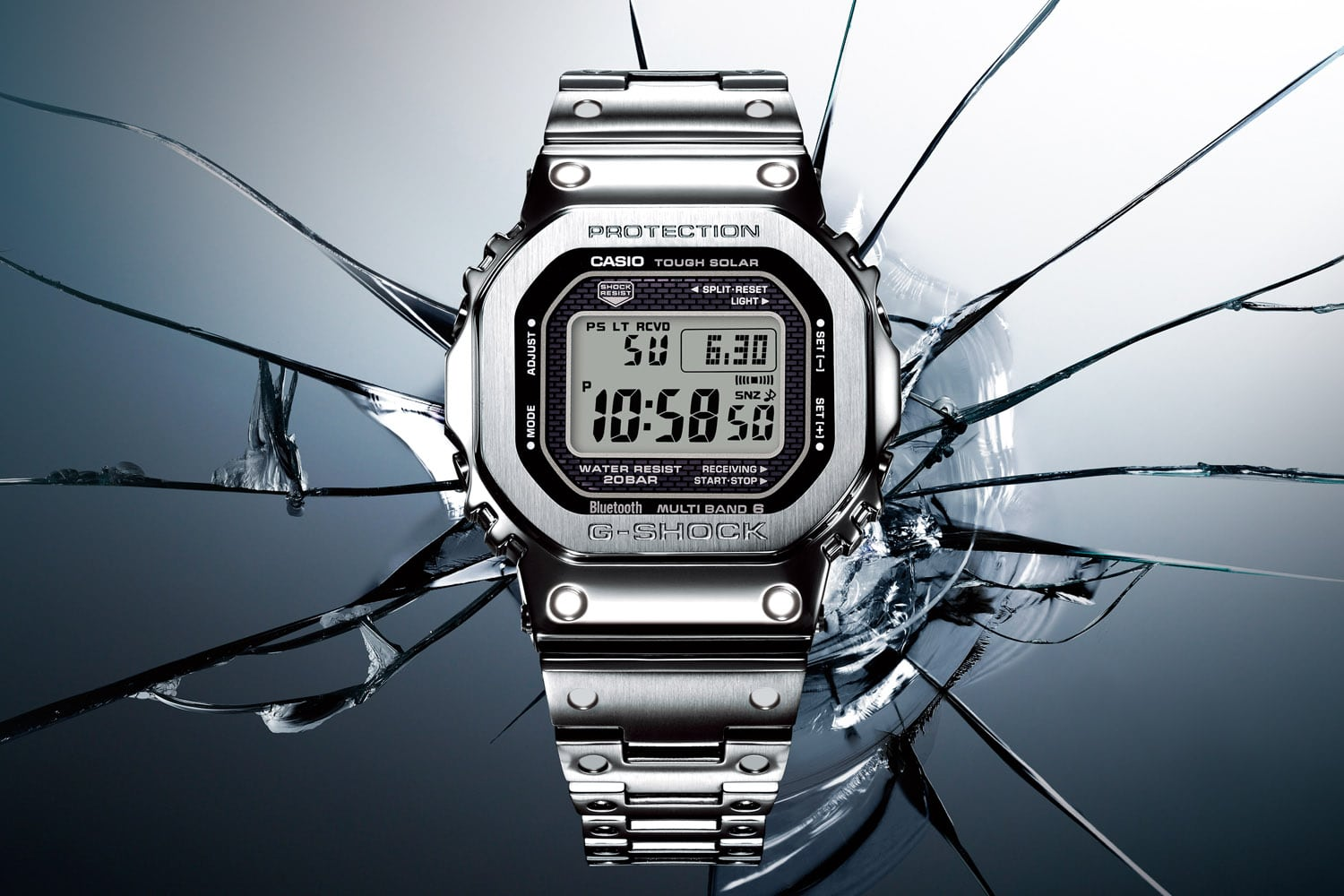 The Unbreakable G-SHOCK has Gone Full Metal – The GMWB5000D