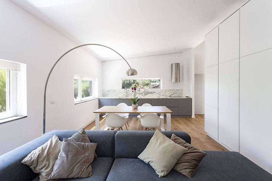 lounge area glass pavillion