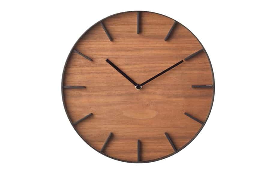 Yamazaki Wood Wall Clock