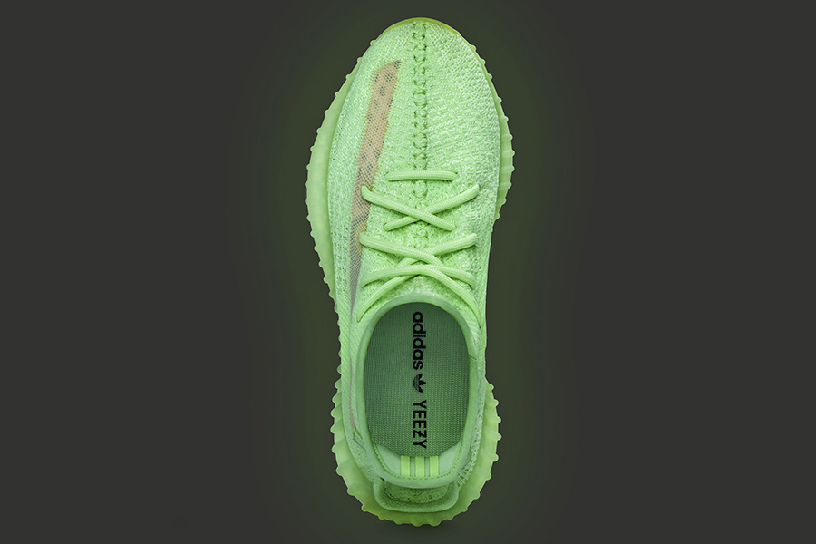 top view adidas yeezy