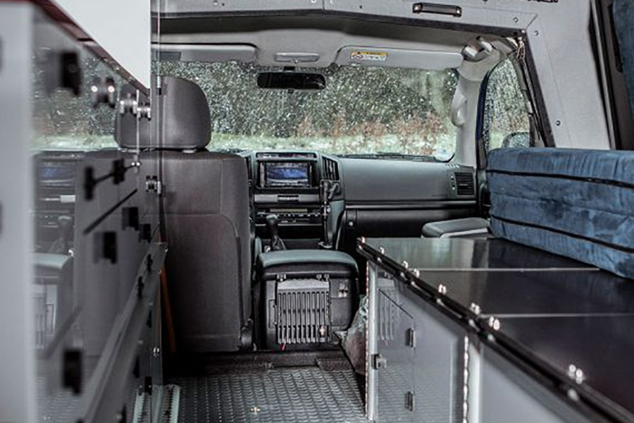 inside look at land cruiser