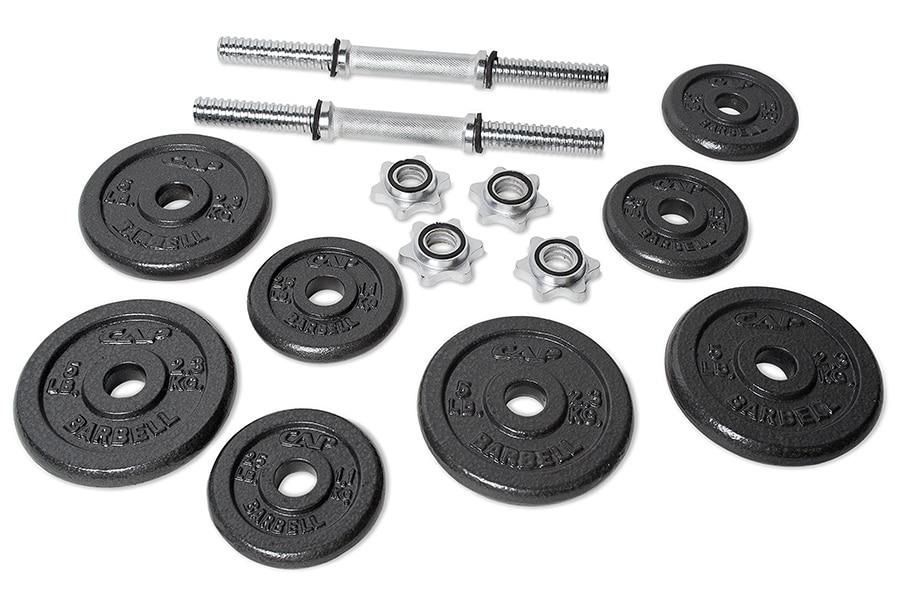 adjustable dumbbell kit