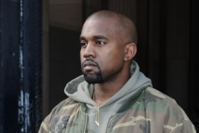 Style Guide - How to Dress like Kanye West - Kanye West in Camo bomber