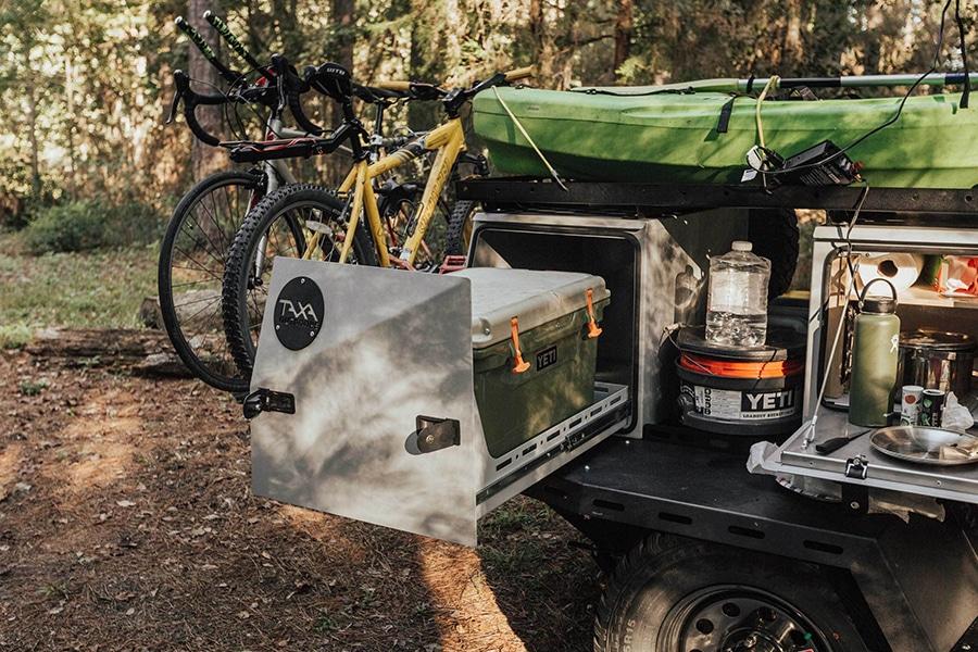 TAXA cooler compartment