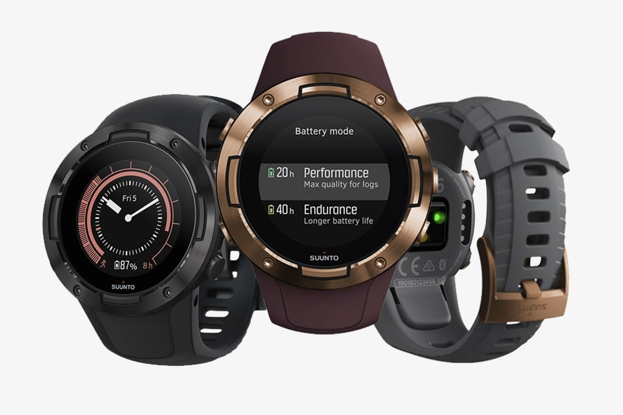 The Suunto 5 GPS Sports Watch is Slim, Smart, and Sturdy