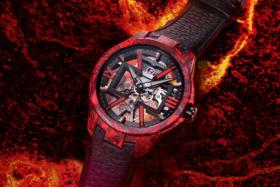 Ulysse Nardin Skeleton X Magma watch