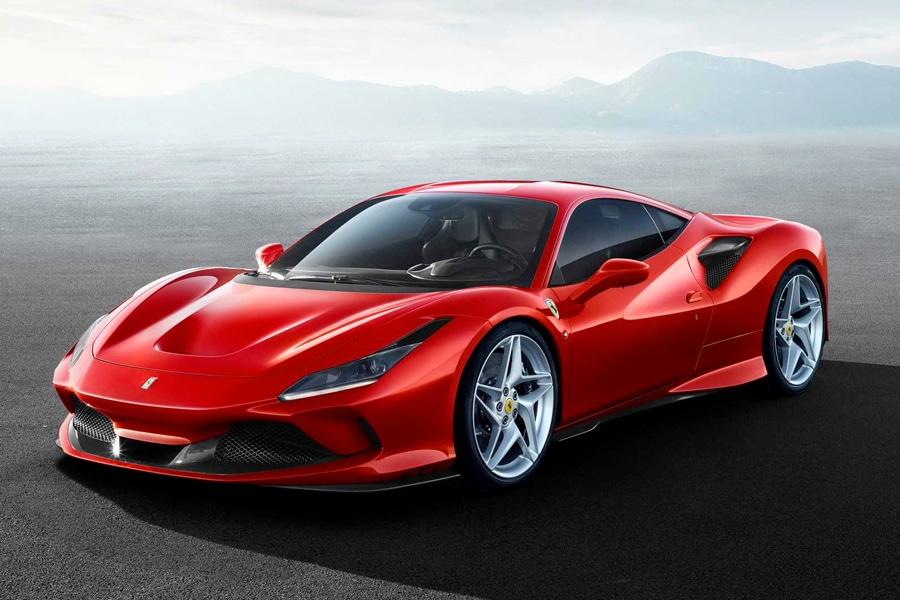 Red Ferrari SF90