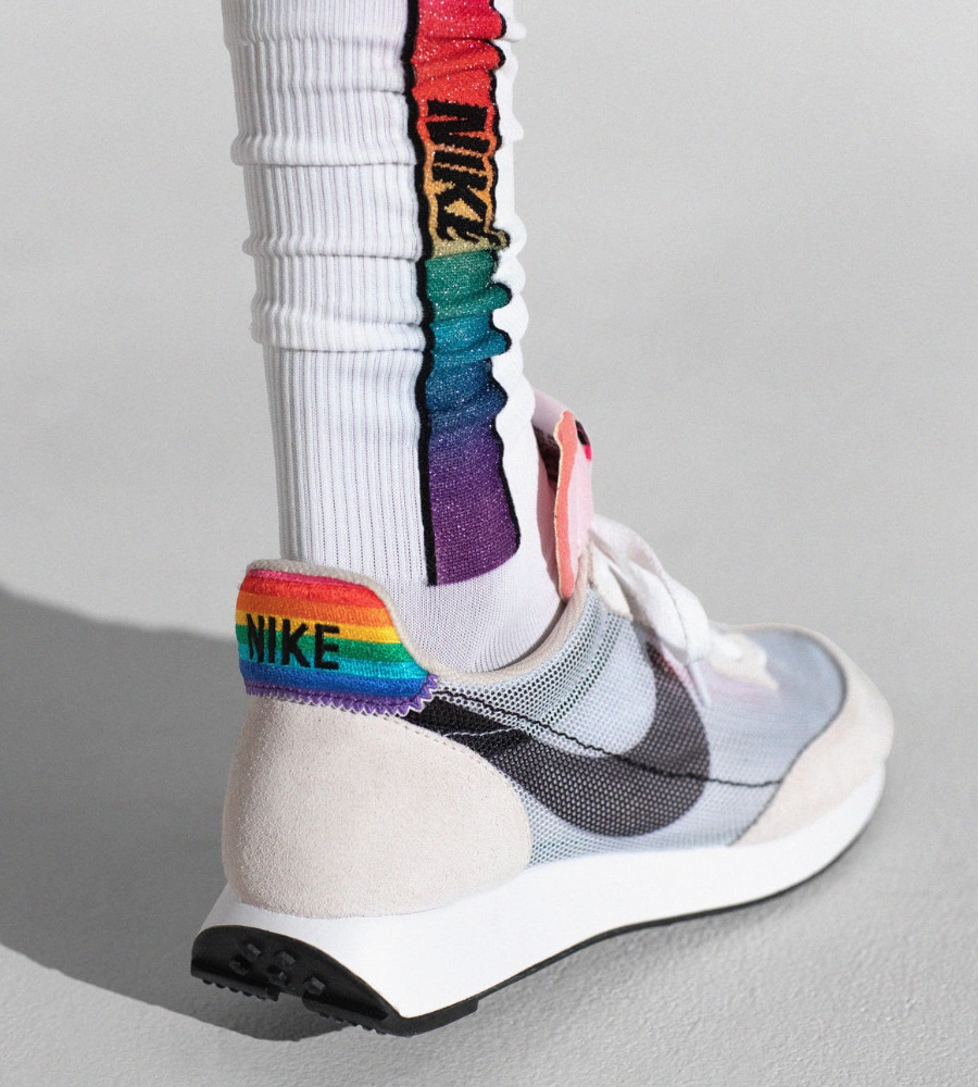 nike rainbow sneakers and socks