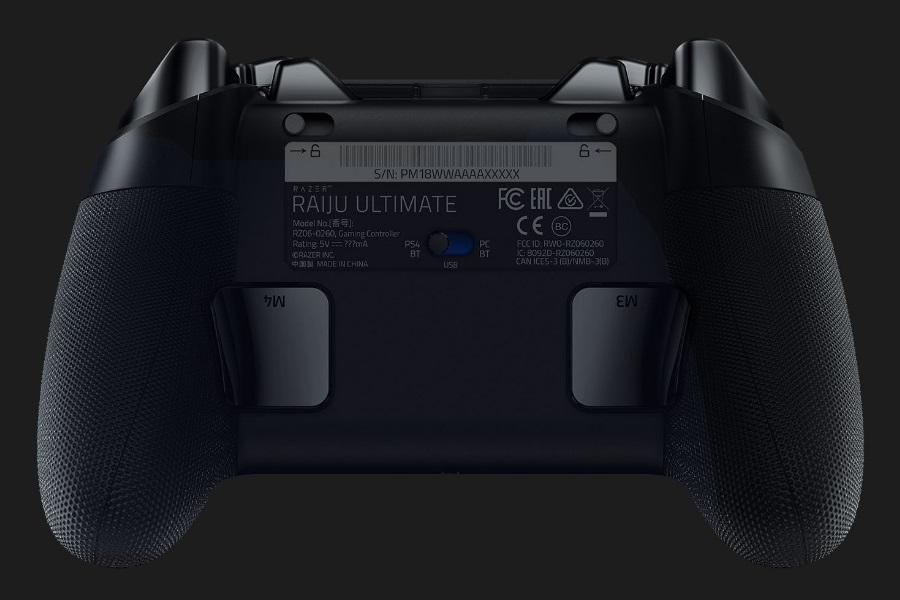 razer raiju ultimate paddle buttons