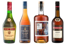 Assorted Brandy Bottle Brands