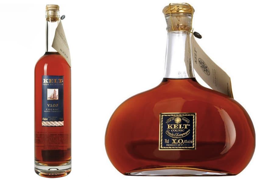 Kelt cognac bottle