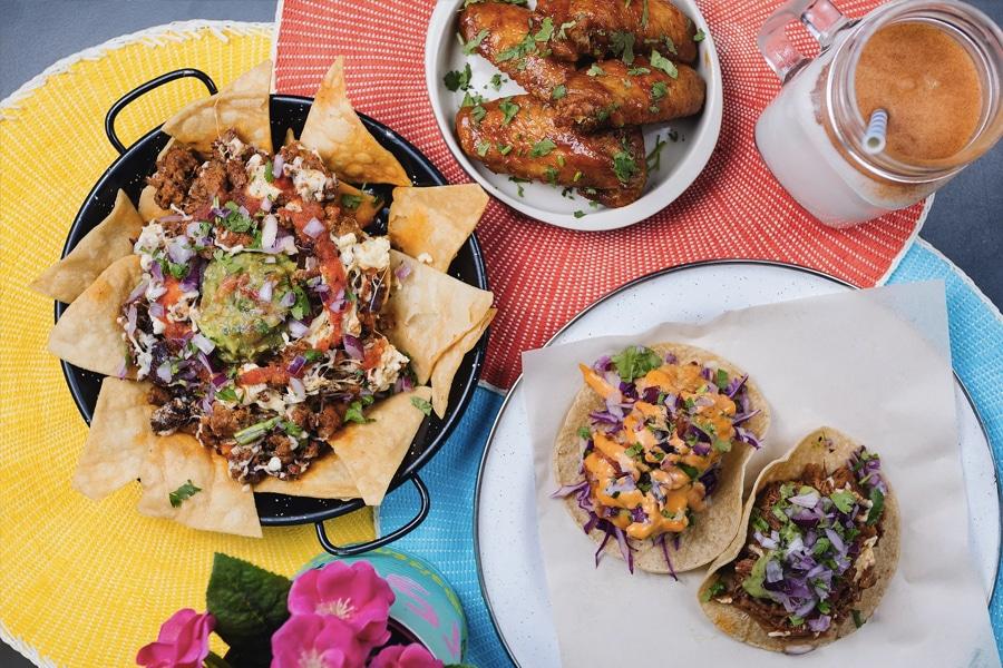 Si Senor Art Tequeria mexican restaurant food