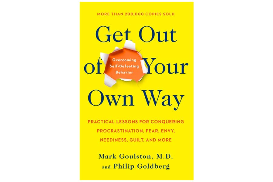 Get out of your own way book cover