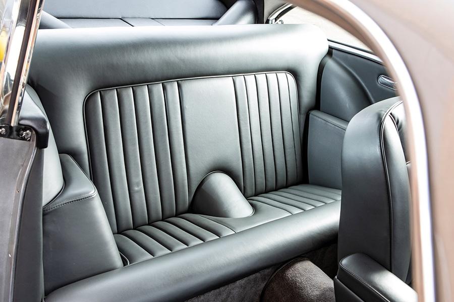 aston martin upholstery car seat