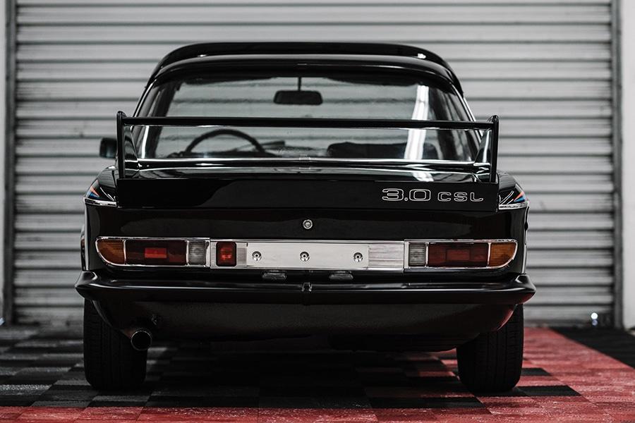 1972 BMW 3.0 CSL back view