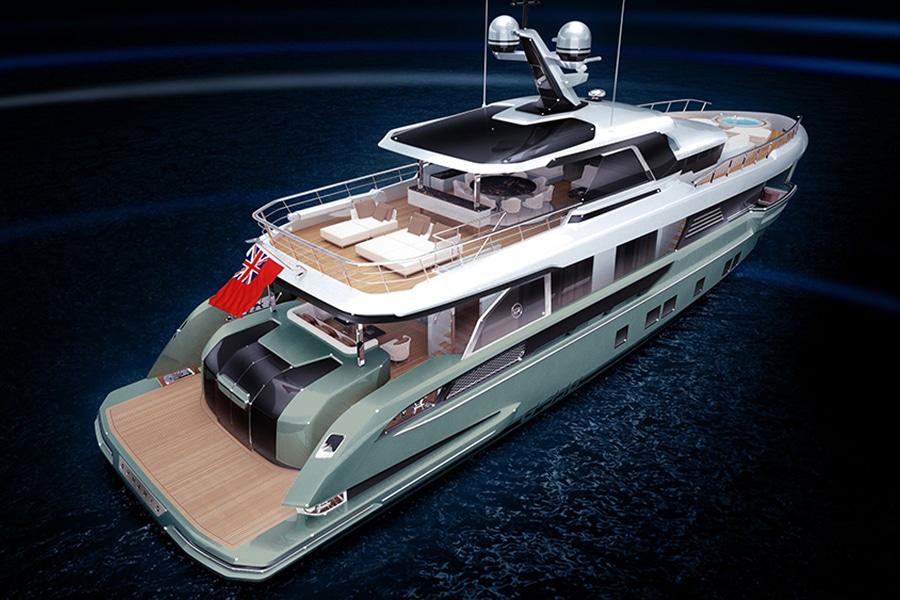 bentley's view deck yacht
