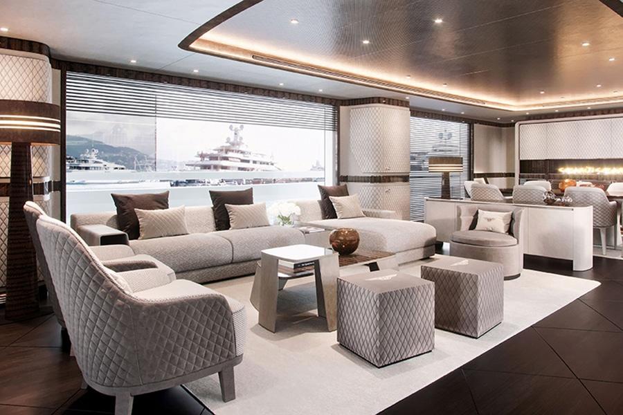 bentley lounge yacht