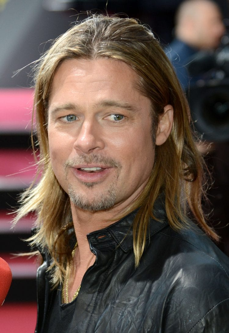 Brad Pitt Long Haircut
