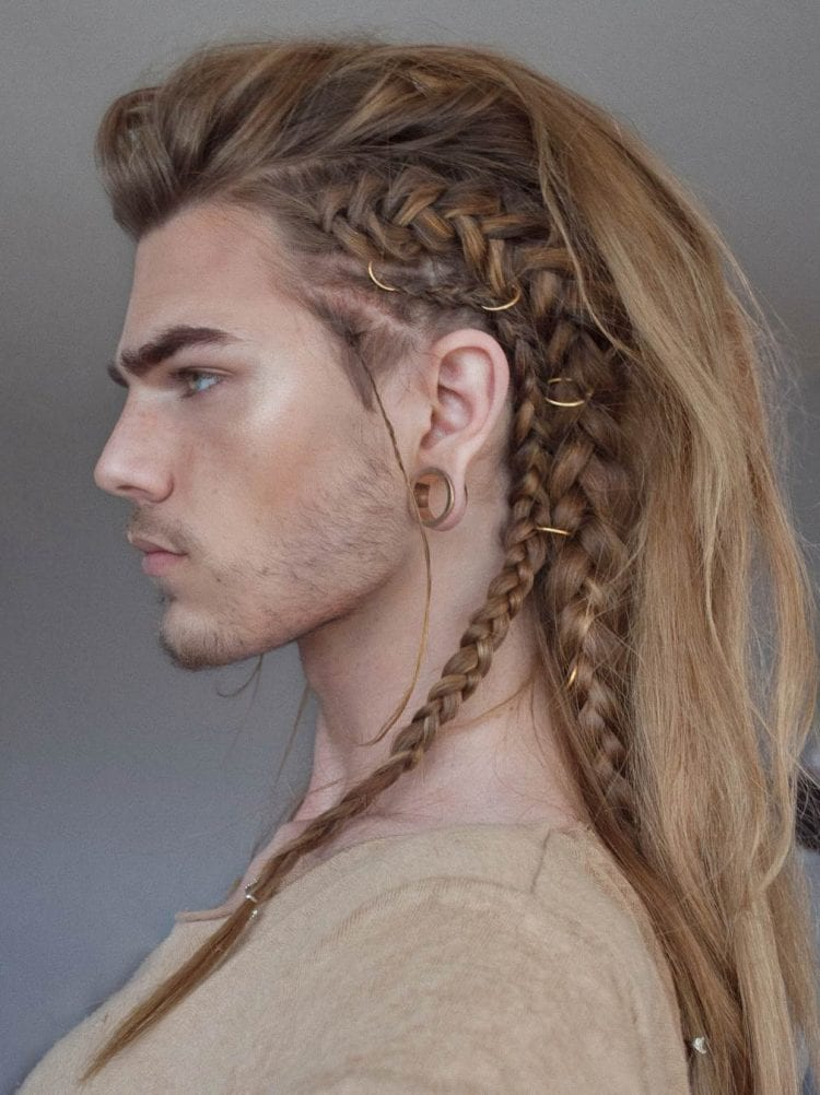 Cool Long Hair Haircuts For Guys 35