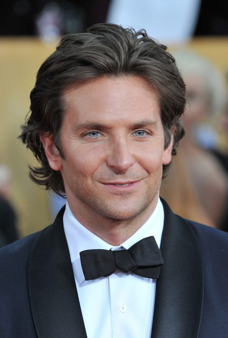 Bradley Cooper Flow Long Haircut