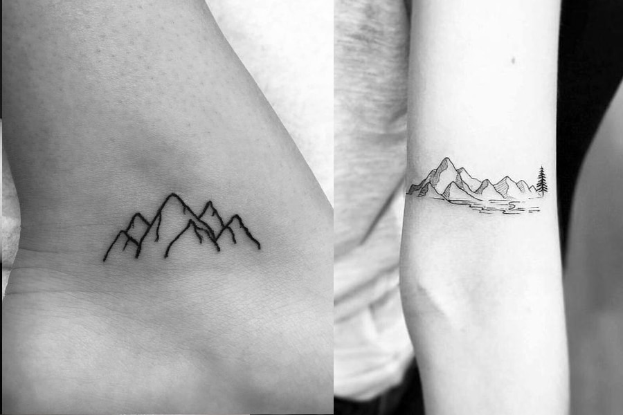 minimalist tattoo for men