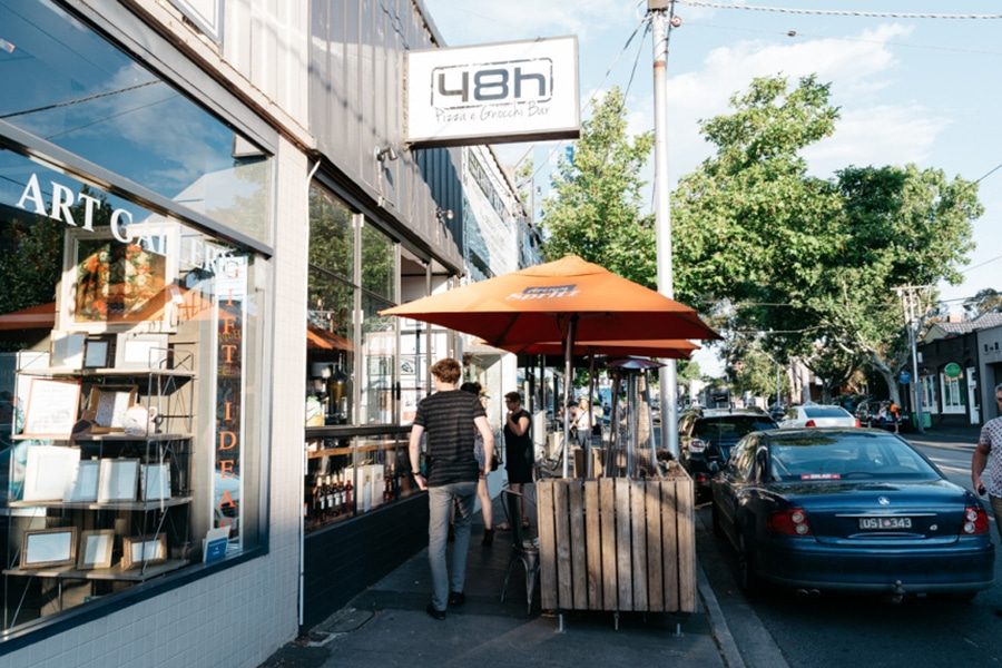 48h Pizza e Gnocchi Bar in South Yarra and Elsternwick