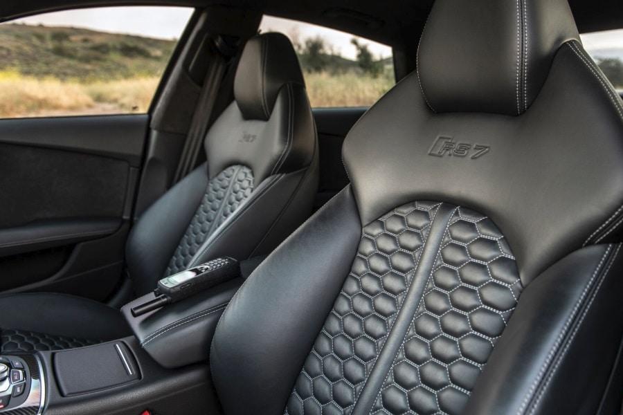 custom black car seats
