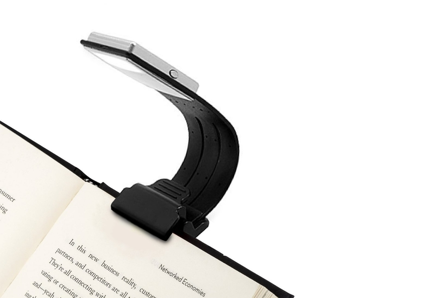 Clip On Book Light USB Rechargeable Reading Lamp