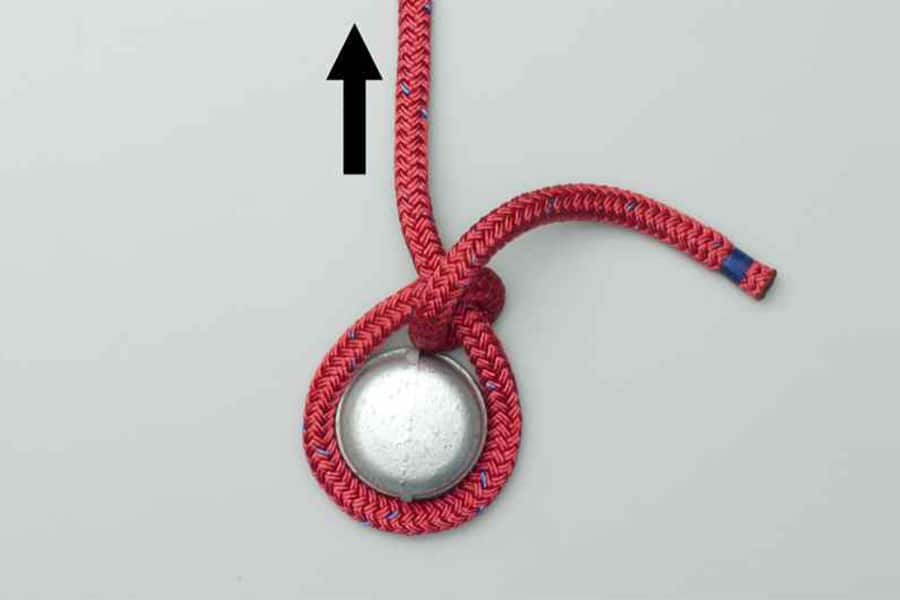half hitch knot