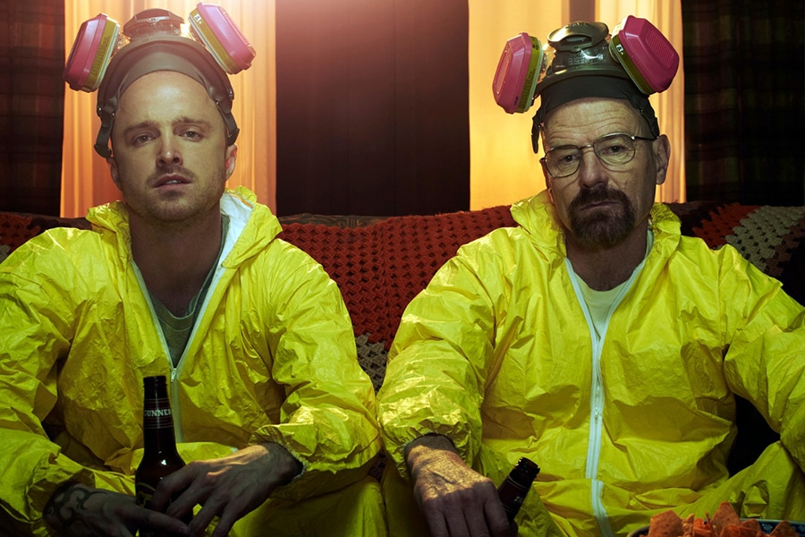 Breaking Bad poster Jesse and Walter