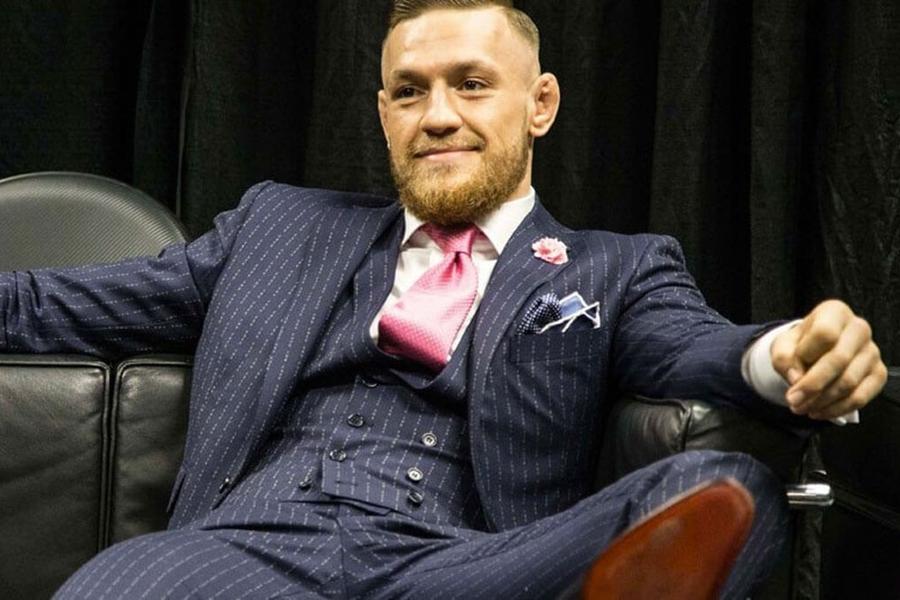 Conor McGregor\u0027s \u0027Fuck You\u0027 Pinstripe Suit