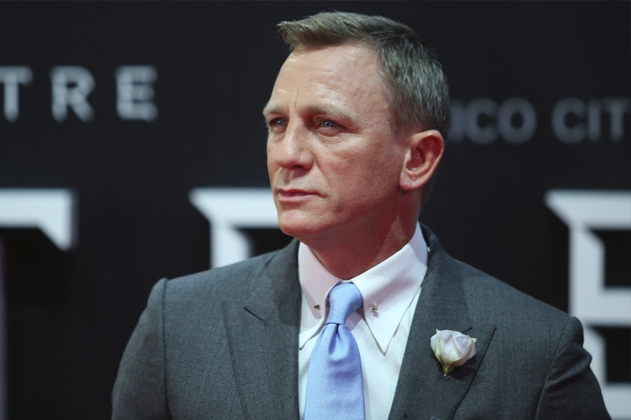 Daniel Craig at Spectre Red Carpet