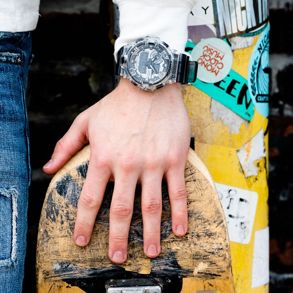 G-SHOCK GA700SK on wrist