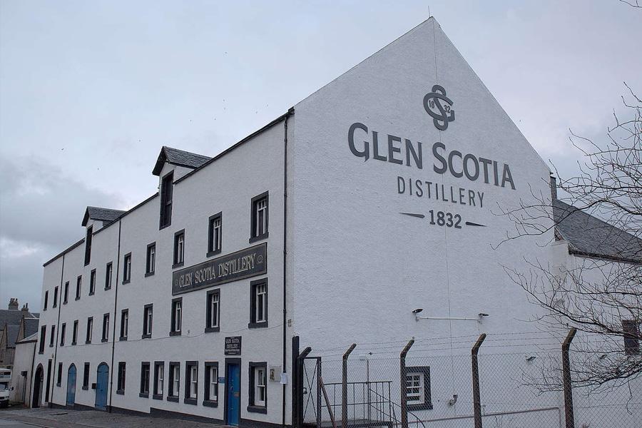 Campbelltown Glen Scotia scot whisky distillery