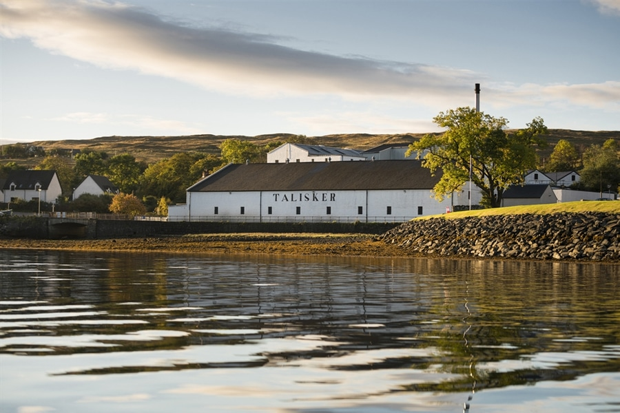 Island Talisker scotch whisky distillery