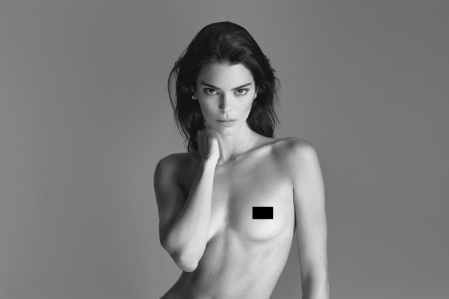 Kendall Jenner's Nude Photoshoot for Proactiv