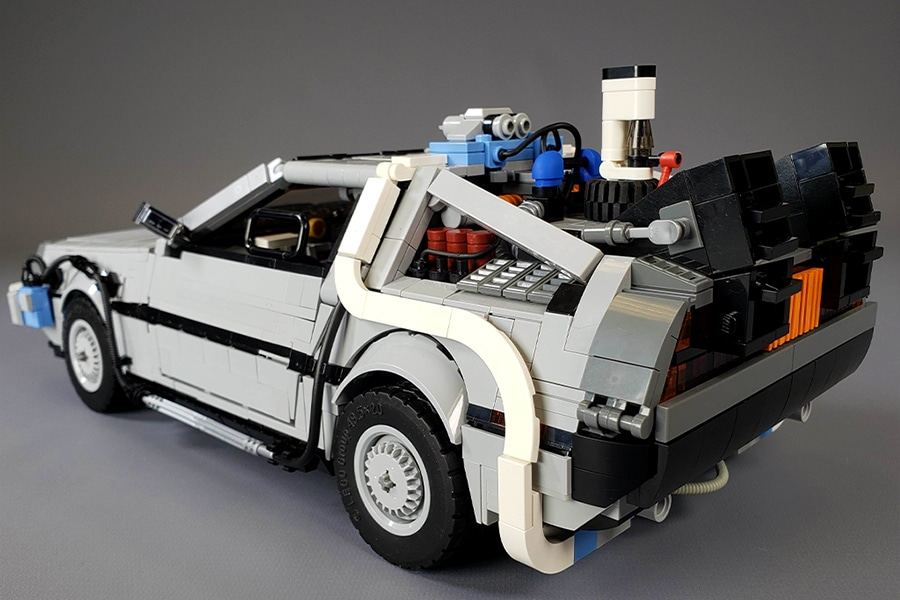 step by step guide to build the delorean