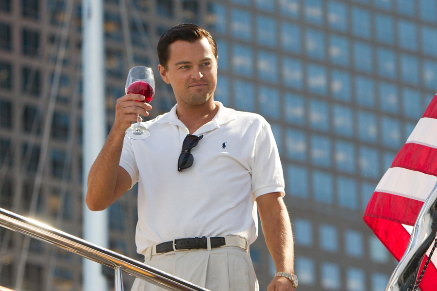 Leonardo Dicaprio in Wolf of Wall Street 2